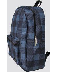 Ben Sherman - Gingham Print Backpack - Lyst