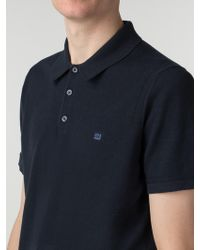 Ben Sherman - Short Sleeve Cotton Knitted Polo - Lyst
