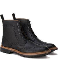 Ben Sherman - Goodyear Country Brogue Boot - Lyst