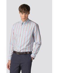 Ben Sherman - Long Sleeve Archive Brighton Stripe Shirt - Lyst