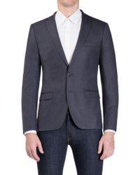 Ben Sherman - Blue Textured Camden Fit Jacket - Lyst