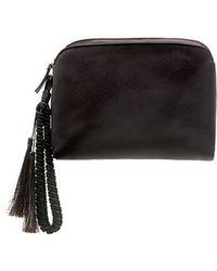 The Row - Satin Tassel Wristlet Clutch Bag - Lyst