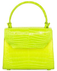 Nancy Gonzalez - Crocodile Small Flap Top-handle Crossbody Bag - Lyst