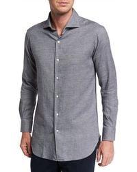 Loro Piana - Men's New Alain Textured Dress Shirt - Lyst