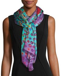 Mila & Such - Bind Me Not Silk Rectangle Scarf - Lyst