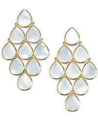 Ippolita - 18k Polished Rock Candy Cascade Earrings - Lyst