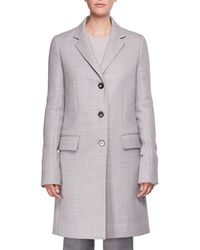 The Row - Amutto Three-button Coat - Lyst