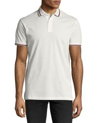 Ralph Lauren - Contrast-tipped Polo Shirt - Lyst
