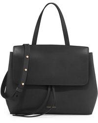 Mansur Gavriel - Vegetable-tanned Leather Mini Lady Bag - Lyst