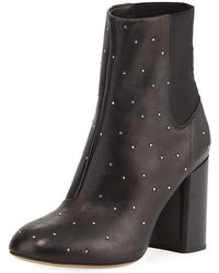 Rag & Bone - Agnes Studded Leather Ankle Boots - Lyst