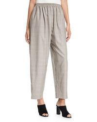 Eskandar - Wool-silk Japanese Trousers - Lyst