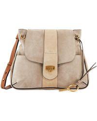 Chloé - Lexa Medium Suede Shoulder Bag - Lyst