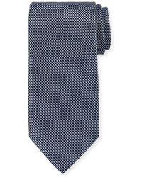 Brioni - Micro-chevron Silk Tie - Lyst
