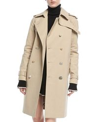 Adam Lippes | Double-breasted Trenchcoat | Lyst