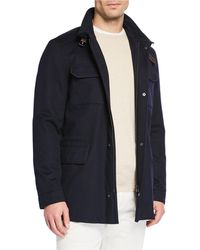 Loro Piana - New Traveller Cashmere Stretch Storm System® Jacket - Lyst