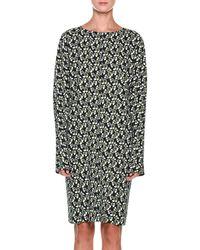 Marni - Floral Print Day Dress - Lyst