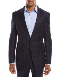 Tom Ford - Men's O'connor Overcheck Two-piece Wool Suit - Lyst