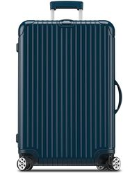 """Rimowa - Salsa Deluxe Electronic Tag Yachting Blue 26"""" Multiwheel - Lyst"""