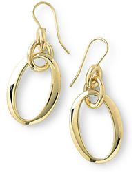 Ippolita - 18k Glamazon Short Oval Link Earrings - Lyst