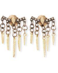 Armenta - Old World Diamond Crivelli Shaker Earrings - Lyst