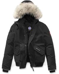 Canada Goose Rundle Hooded Down Bomber Jacket