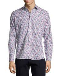 Etro | Paisley-print Cotton Shirt | Lyst