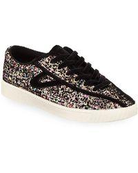 Tretorn - Nylite 5 Plus (multi/black Glitter) Women's Lace Up Casual Shoes - Lyst