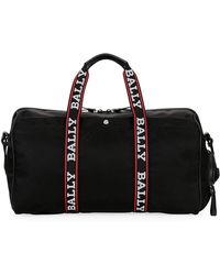 Bally - Men's Darcy S0 Logo-tape Nylon Duffel Bag - Lyst