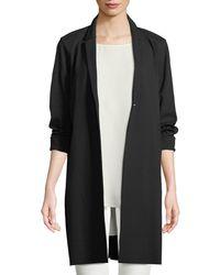 Lafayette 148 New York - Labelle Modern Modal Long Jacket - Lyst