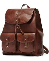 Ghurka - Blazer No. 278 Leather Backpack - Lyst
