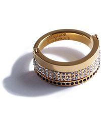 Vita Fede - Bardot Crystal Ring - Lyst