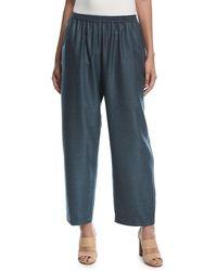 Eskandar - Side-slit Japanese Trousers - Lyst