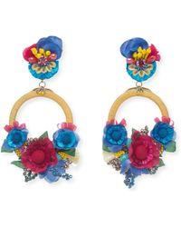 Ranjana Khan - Eden Statement Clip-on Earrings - Lyst