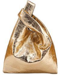 Hayward - Mini Foiled Leather Shopper Tote Bag - Lyst