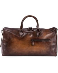 Berluti - Jour-off Gm Large Leather Duffel Bag - Lyst