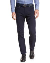 Ermenegildo Zegna - Slim-fit Straight-leg Jeans - Lyst