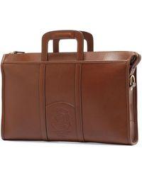Ghurka - Expediter Leather Attache Case - Lyst