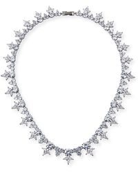 Fallon - Monarch Pointed Cluster Choker Necklace - Lyst
