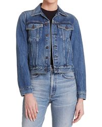 Citizens of Humanity - Nica Slim Cropped Denim Jacket - Lyst