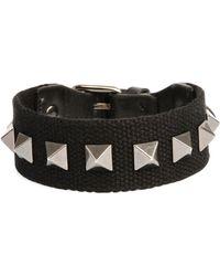 Valentino - Men's Nylon Rockstud Bracelet - Lyst