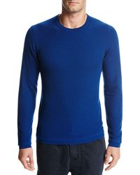 Vince | Double-layer Wool Crewneck Sweater | Lyst