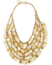 Ashley Pittman - Jamaa Light Horn Bib Necklace - Lyst
