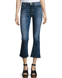 Hudson Jeans - Brix High-rise Crop Flared Jeans - Lyst
