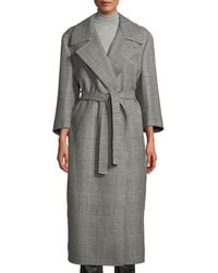 Giuliva Heritage Collection - The Linda Houndstooth Check Robe Coat - Lyst