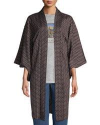 Elizabeth and James - Vintage One-of-a-kind Long Kimono - Lyst