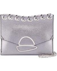 Proenza Schouler | Small Curl Metallic Whipstitch Clutch Bag | Lyst