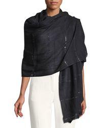 Bindya - Wool-silk Stole Delicacy W/ Sequins - Lyst