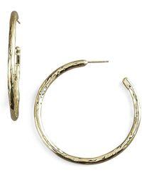 Ippolita - Glamazon Gold Hoop Earrings - Lyst