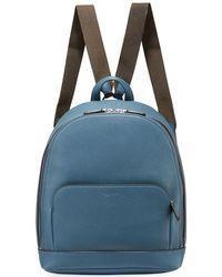Giorgio Armani - Men's Tumbled Calf Leather Backpack - Lyst