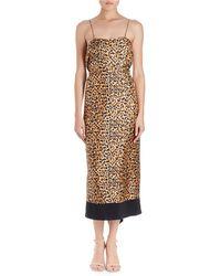Dries Van Noten | Dica Leopard-print Midi Cami Dress | Lyst